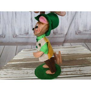 Annalee Holiday - Annalee St Patrick's 2016 Lad Mouse Green Hat Holi